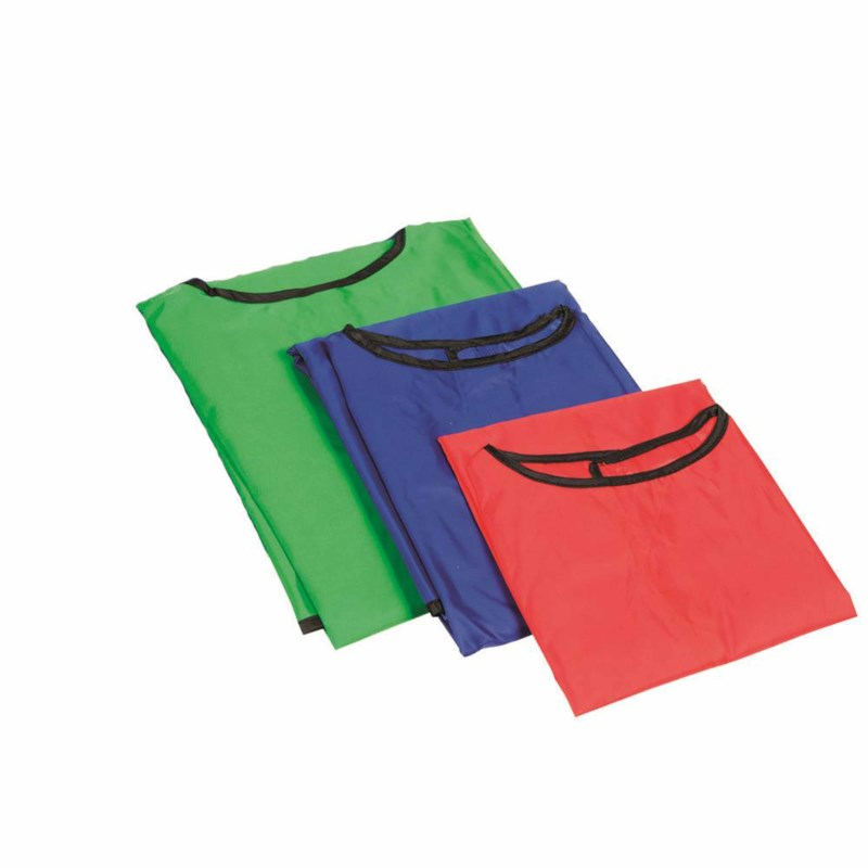 Painting apron red - 3 to 5 years