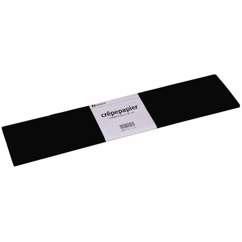 Crepe paper - Floriade - Black