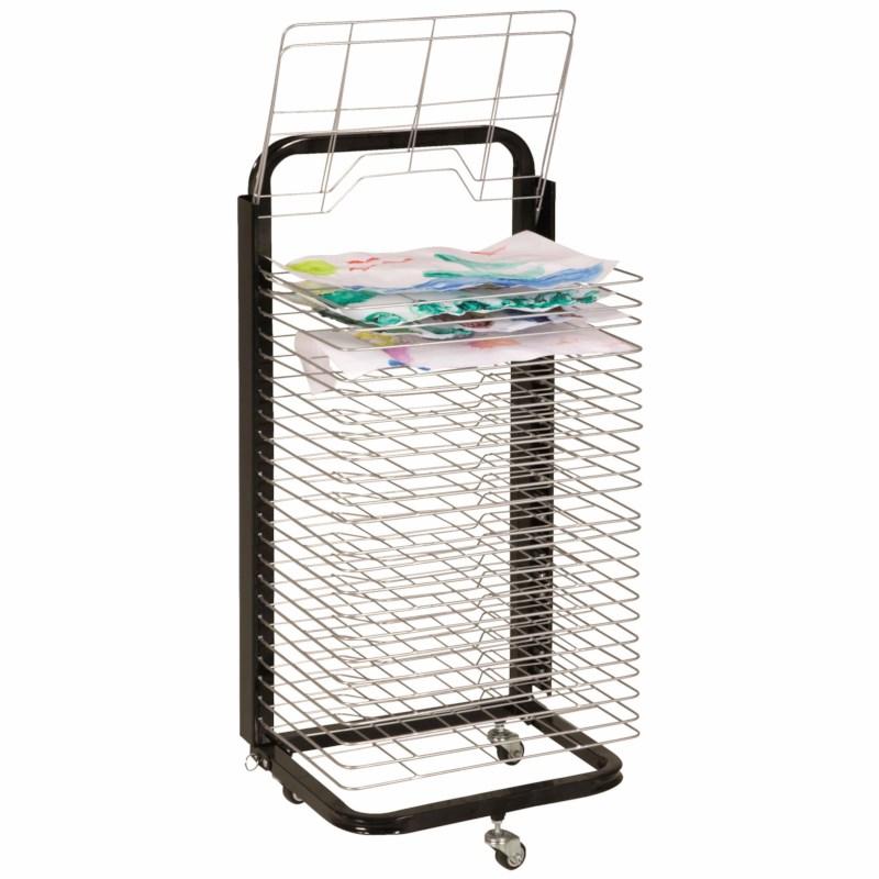 Drying rack - Movable - 25 racks